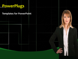 PowerPoint Template - Businesswomen standing